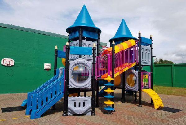 大型游乐场儿童组合滑梯