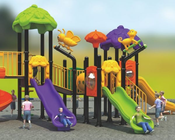 Plastic Combined Slide