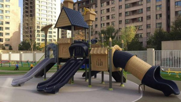 China Chenxuan Play Equipment signs contract with Vanke for the supply and installation of children's play equipment