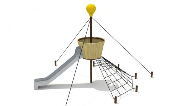 目前市场上有哪几种新型的无动力儿童游乐设施?
