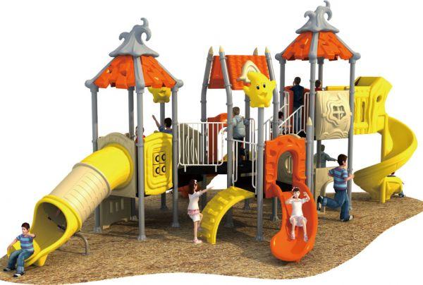 广州儿童滑梯—幼儿园组合滑梯—广州晨飞游乐设备厂家
