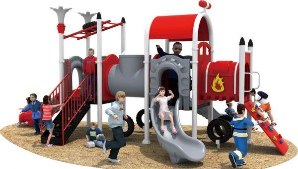 广州儿童滑梯厂家—定制幼儿园滑滑梯—广州晨飞游乐设备厂家