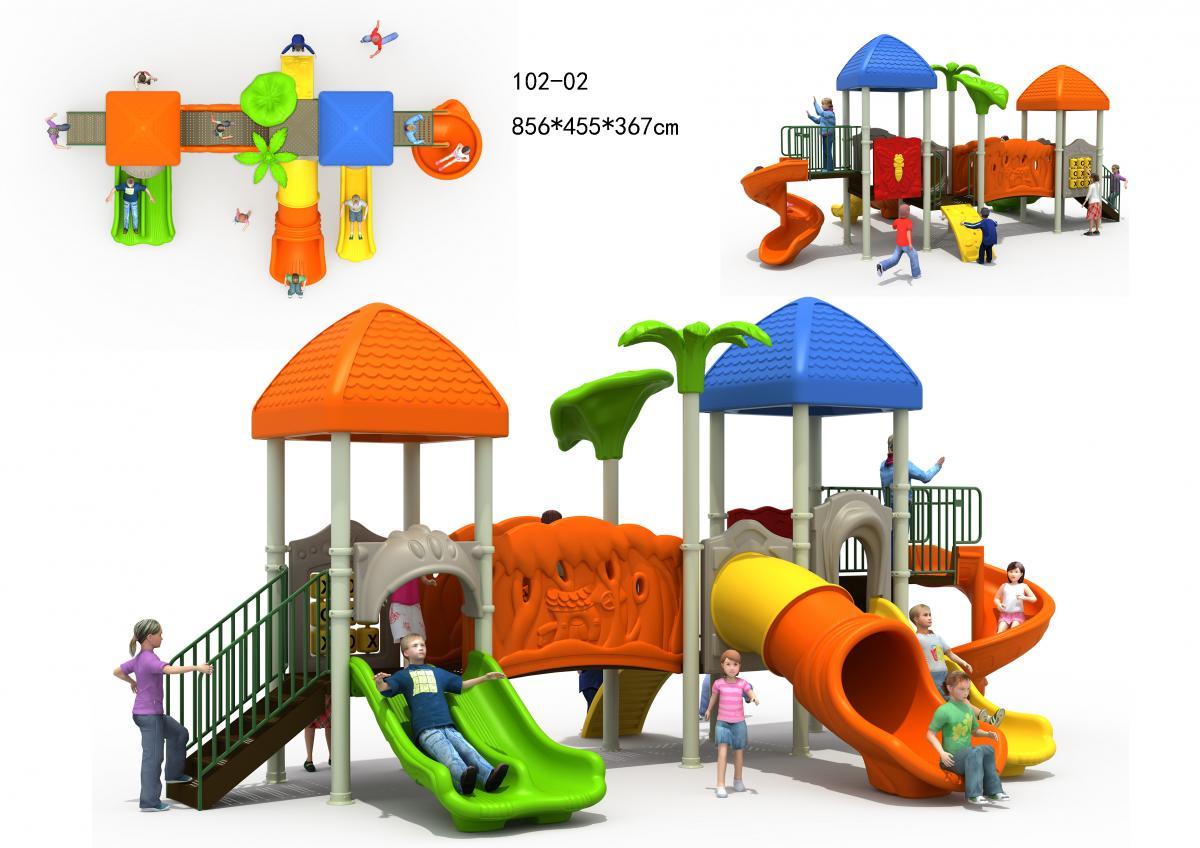 102-02儿童组合滑梯