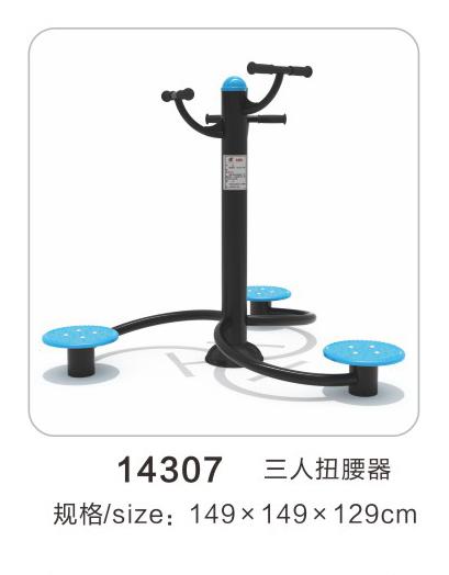 14307三人漫步机