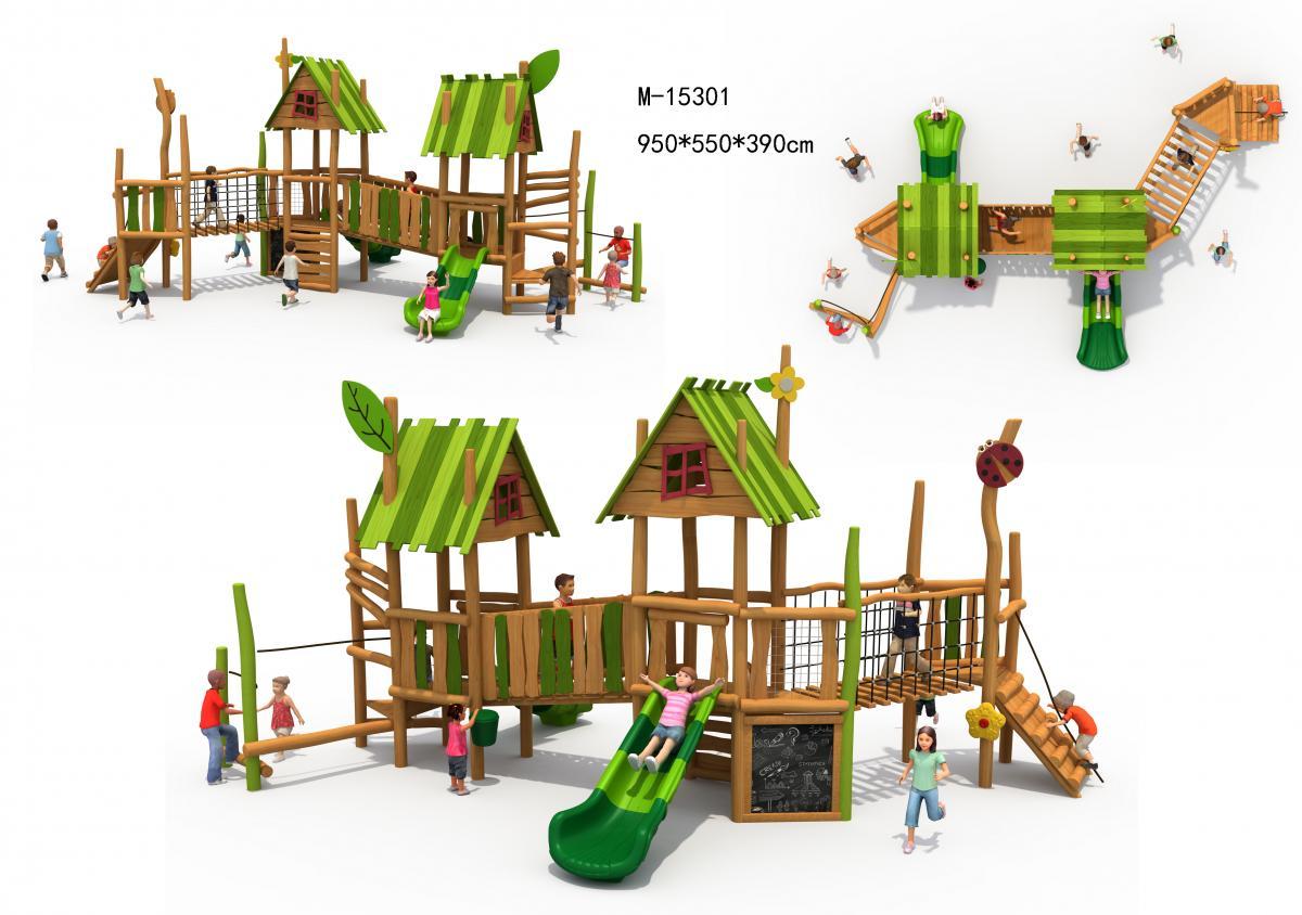 M-15301木质滑滑梯