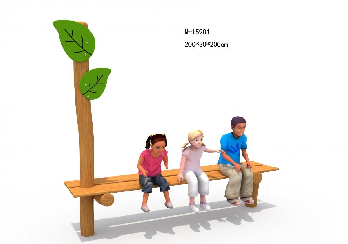 M-15901木质休闲座椅