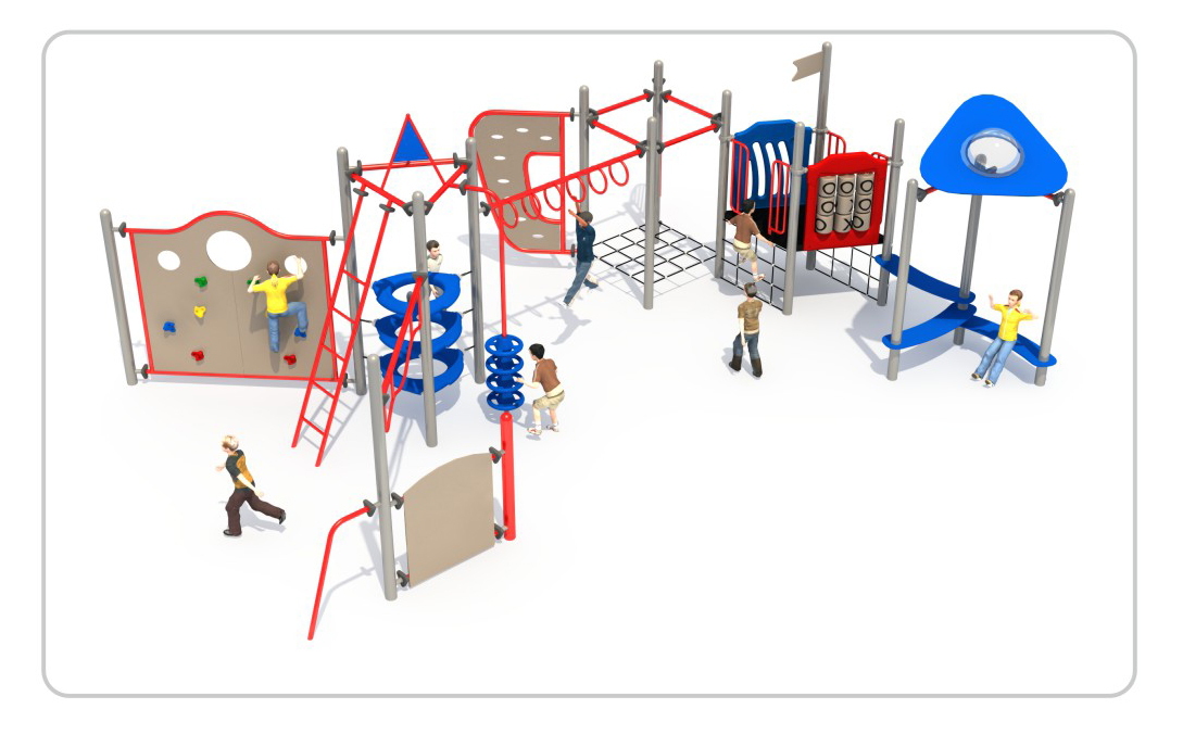 TNB-1816幼儿园户外游乐场攀爬架