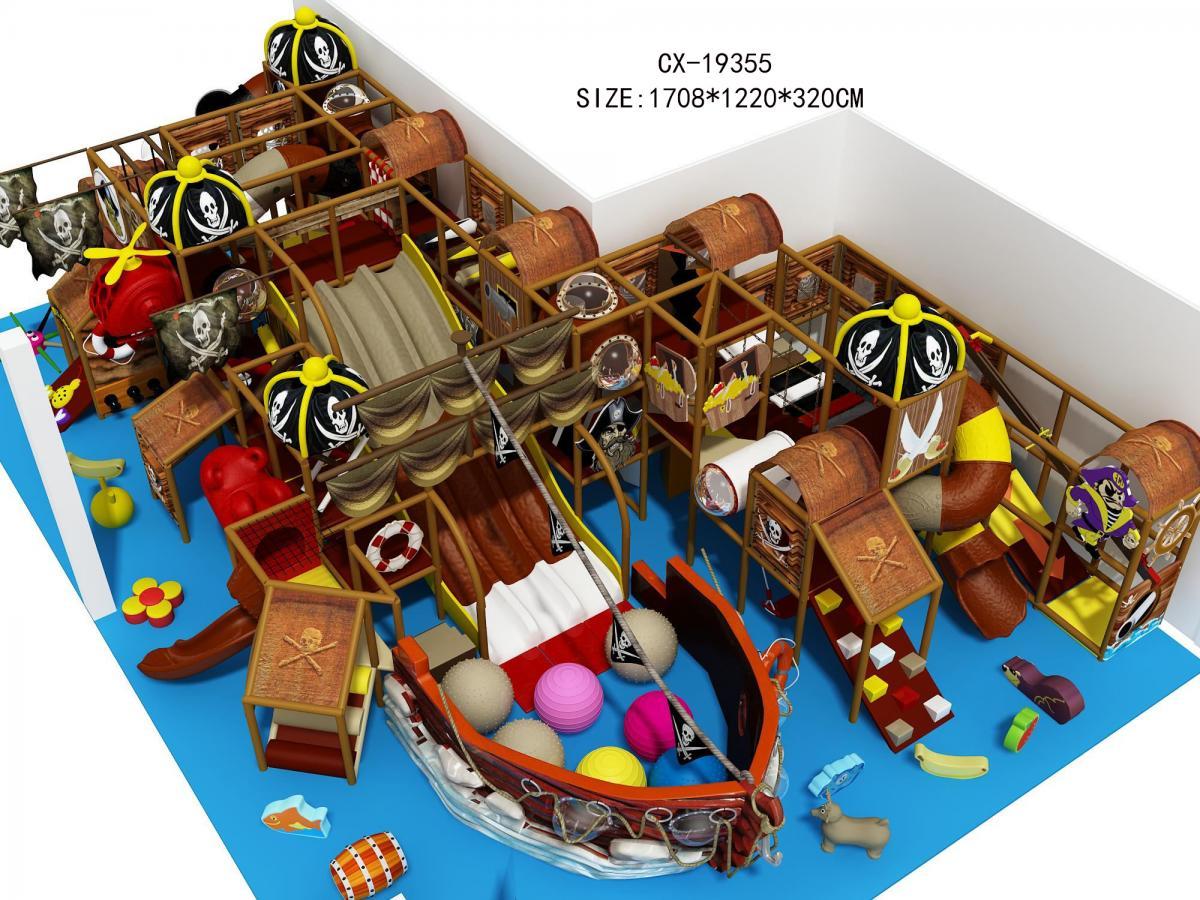 CX-19355海盗船主题淘气堡乐园