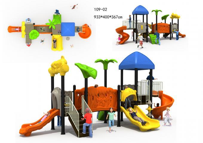 109-02儿童组合滑梯