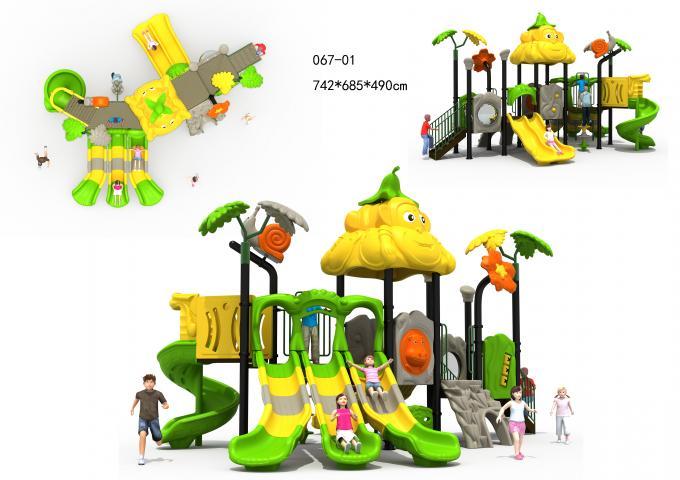 067-01猴子主题系列小区户外游乐场滑滑梯