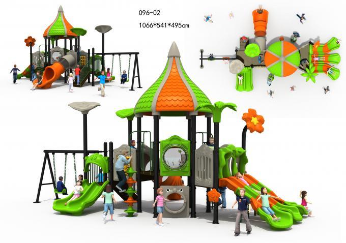 096-02热带雨林系列儿童滑梯组合