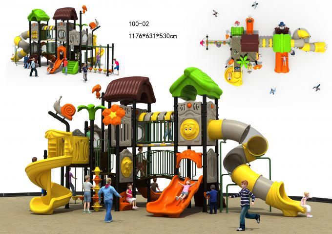 100-02森林系列滑梯组合