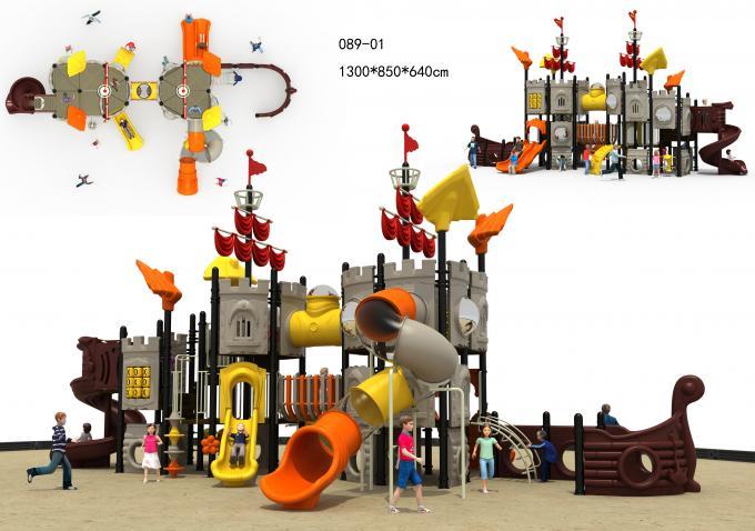 089-01海盗船主题系列大型组合滑梯