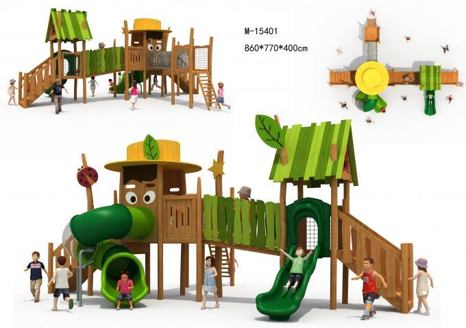 M-15401木质滑梯组合