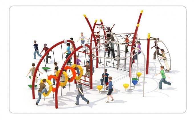TNB-1810户外体能攀爬架组合儿童款
