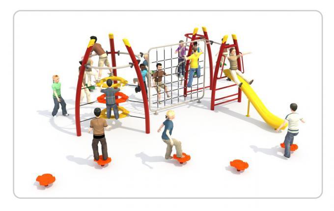 TNB-1011小区户外儿童攀爬架组合款