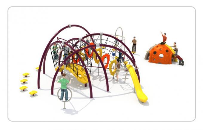 TNB-1812户外公园儿童攀爬架滑梯组合
