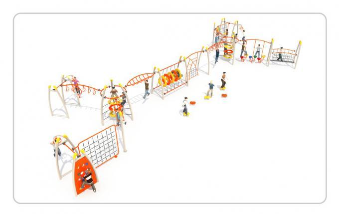 TNB-1814儿童体能训练攀爬架