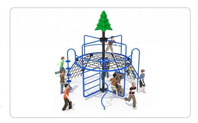 TNB-1817户外游乐场儿童攀爬架组合