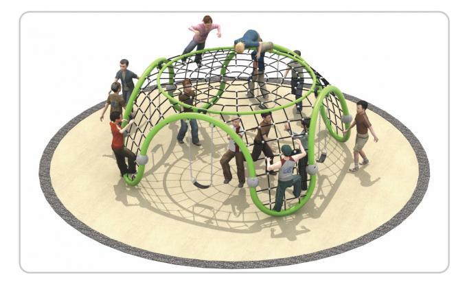 TNB-1827社区户外游乐场儿童攀爬架组合