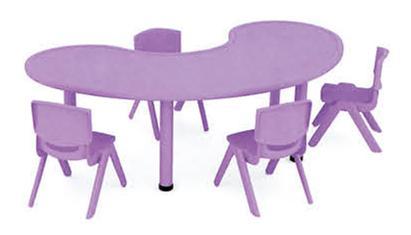 幼儿园月亮桌