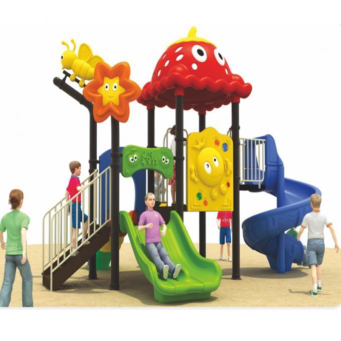 晨飞15P26卡通组合滑梯 儿童喜欢的滑滑梯 室外滑梯 CE国际认证出口滑梯