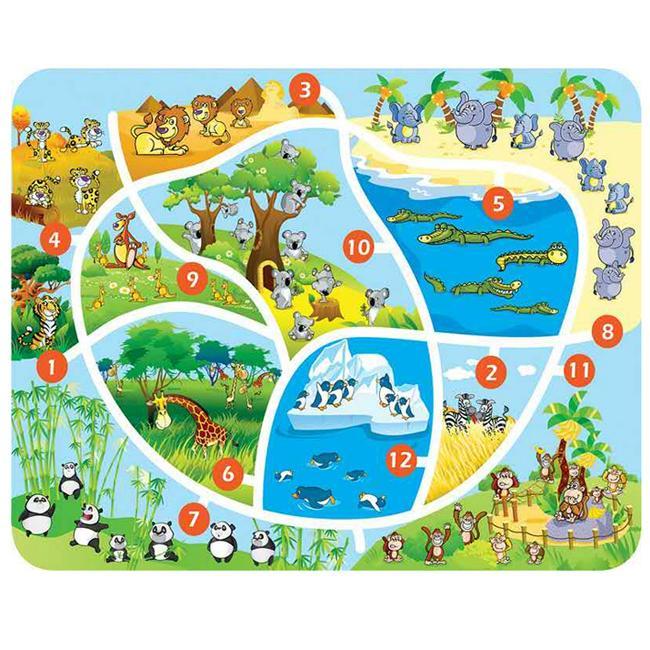 晨飞211414幼儿园墙面玩具数字配对学习