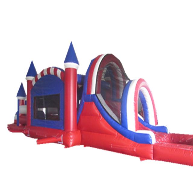 晨飞211871新款充气室内城堡滑梯充气儿童城堡水上乐园滑梯家用小跳床