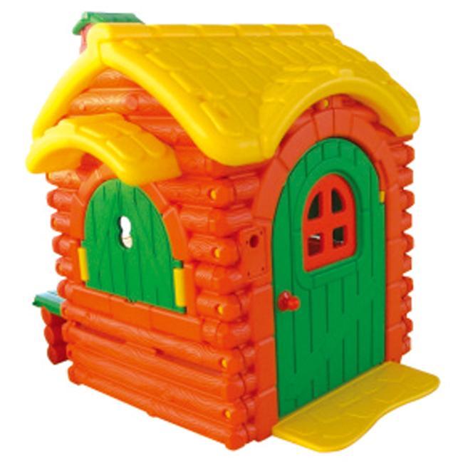 晨飞1910443快乐熊小屋(带门铃)早教幼儿园过家家玩屋具 角色扮演游戏屋