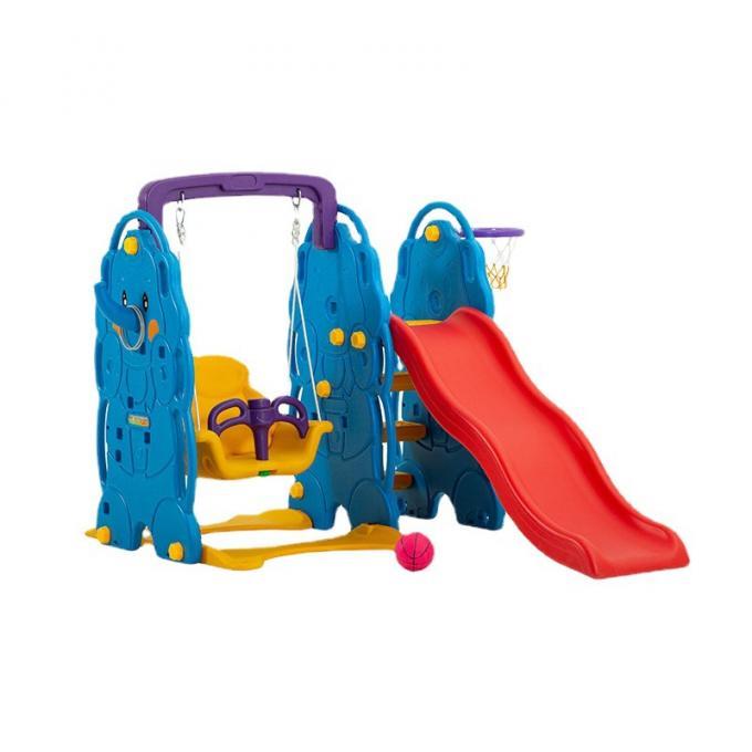 小象滑梯篮球 组合滑梯 攀爬游乐 儿童塑料滑滑梯